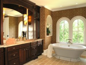The bathroom is a very important part of your New York style home